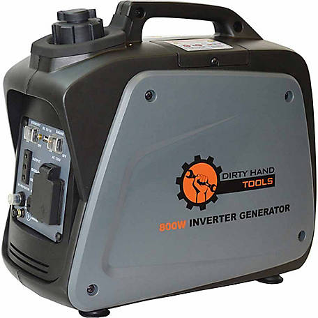 Dirty Hand Tools 700W Gas Powered Inverter Generator