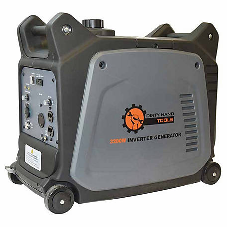 Dirty Hand Tools 2800W Gas Powered Inverter Generator