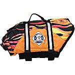 Paws Aboard Doggy Life Jacket, Flames
