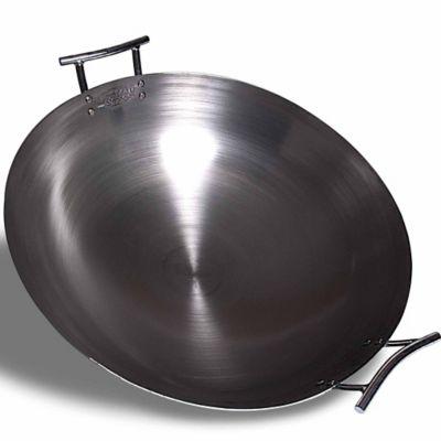 Eastman Outdoors 22 in. Deep Dish Carbon Steel Wok