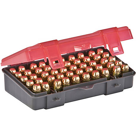 Plano Handgun Ammo Case, .45 ACP, .40 S&W, 10MM