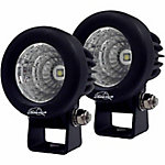 Lazer Star Lights 2.5 in. Enterprise 10W Flood Single LED, Pack of 2