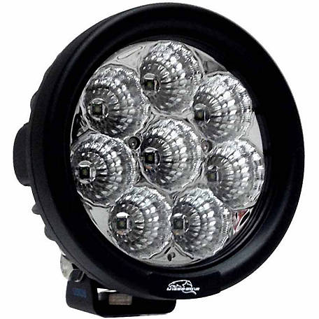 Lazer Star Lights 4 in. Endeavour 3W Flood 8 LED Round Utility Light