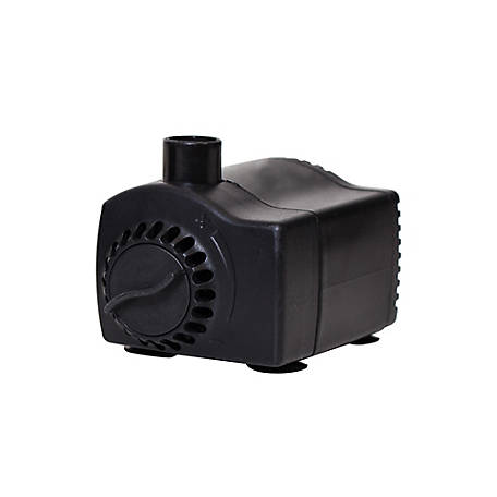 Pond Boss Fountain Pump With Low Water Auto Shutoff 140 Gph