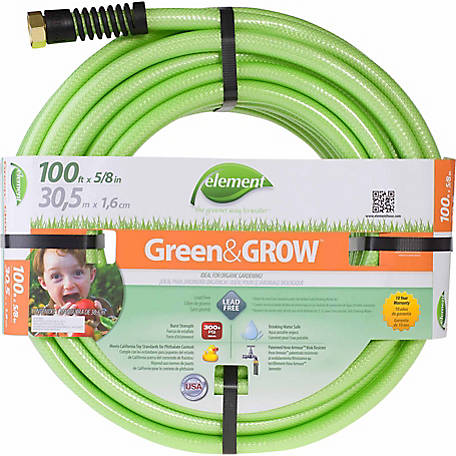 Element Green&GROW 100 ft. x 5/8 in. Garden Hose, CELGG58100