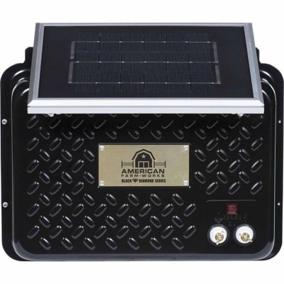 Buy American FarmWorks Black Diamond 15-Mile 6V Solar Low Impedance Charger Online