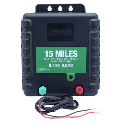 Buy American FarmWorks 15-Mile Battery Operated Low Impedance Fence Charger Online