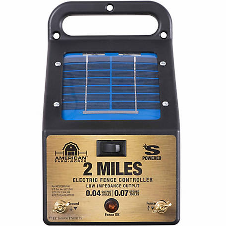 American Farmworks 2 Mile Solar Fence Low Impedance