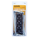 American FarmWorks Black Wood Post Corner Extension Insulators