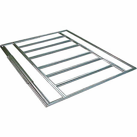 Arrow Admiral & Viking Floor Frame Kit 8x5 (swing doors)