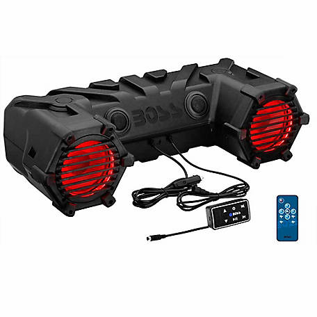 BOSS AUDIO Powersports Plug & Play System w/ Multi Color Illumination