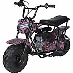 Monster Moto Muddy Girl Mini Bike 80cc Camo