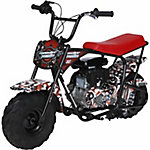 Monster Moto American Flag Mini Bike 80cc
