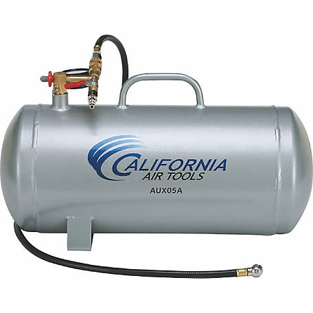 California Air Tools AUX05A 5-Gallon Lightweight Rust-Free Portable Aluminum Air Tank