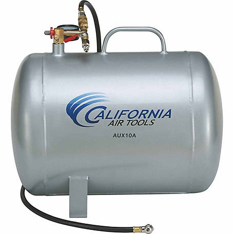 California Air Tools AUX10A 10-Gallon Lightweight Rust-Free Portable Aluminum Air Tank