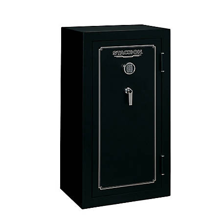 Stack-On 24 Gun Fire Resistant Safe, Electronic Lock, FS-24-MB-E