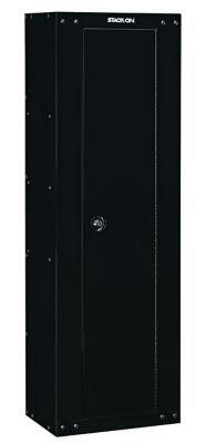 Stack-On 8 Gun Security Cabinet, Black - Ready To Assemble | Tuggl
