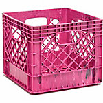 Buddeez Heavy Duty Milk Crate, Set of 2