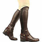 Saxon Adult's Equileather Half Chaps