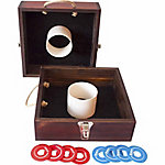 Festival Depot Wood Washer Toss Game Set