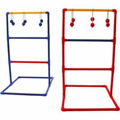 Festival Depot Ladder Ball Toss Game Set