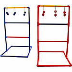 Festival Depot Ladder Ball Toss Game Set