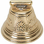 Weaver Leather Swiss Cow Bell, 3-7/8 in., Solid Brass