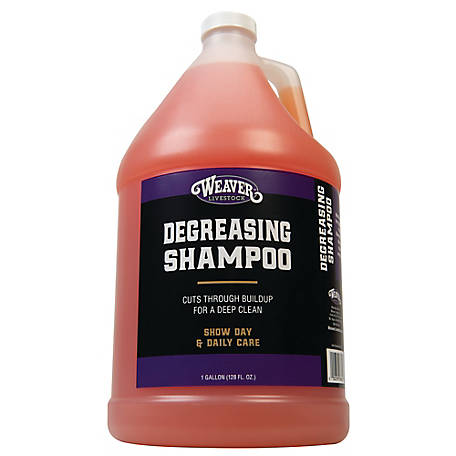 Weaver Leather Degreasing Shampoo, 1 gal.