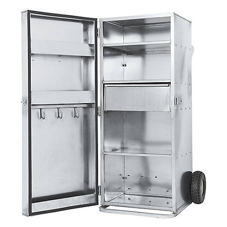 Weaver Leather Livestock 5 ft. Single-Door Galvanized Showbox
