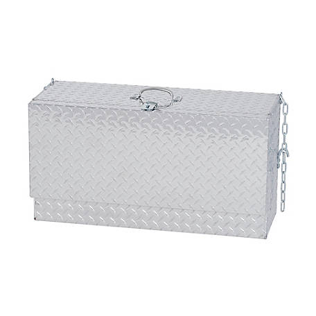Weaver Leather Livestock Mini Deep Hanging Showbox, Aluminum Treadplate