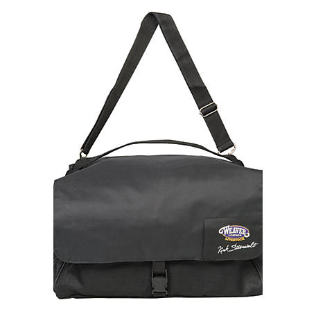 Weaver Leather Kirk Stierwalt Nylon Clipper Bag, Black