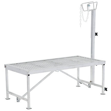 Weaver Leather Aluminum Trimming Stand with Adjustable Headpiece
