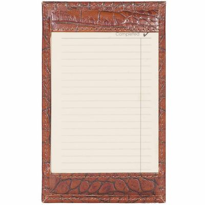 Buy Scully Leather Genuine Leather Jotter; 1005-0-42-F Online