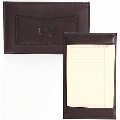 Scully Leather Genuine Leather Jotter, 1005-11-25-F