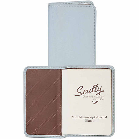 Scully Leather Genuine Leather Personal Noter