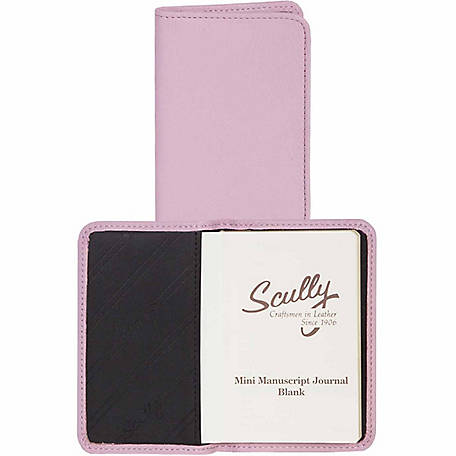 Scully Leather Genuine Leather Personal Noter, 1006B-01-36-F