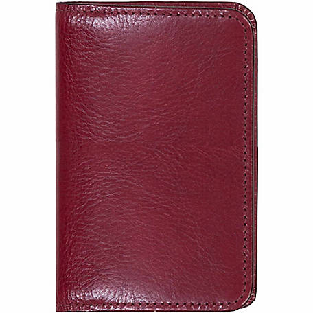 Scully Leather Genuine Leather Personal Noter, 1006R-06-20-F