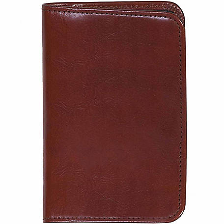 Scully Leather Genuine Leather Personal Noter, 1006R-06-28-F