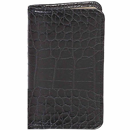 Scully Leather Genuine Leather Personal Weekly Planner, 1007-0-43-F
