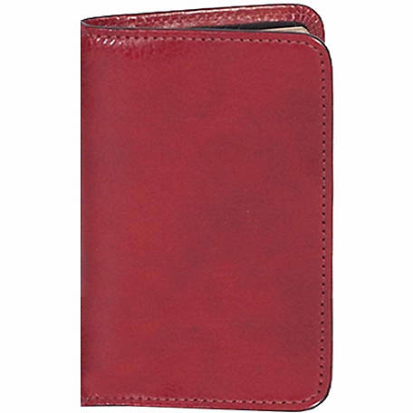 Scully Leather Genuine Leather Personal Weekly Planner, 1007-06-20-F