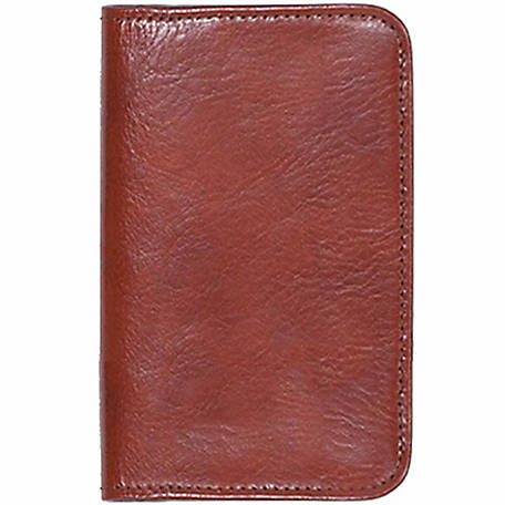 Scully Leather Genuine Leather Personal Weekly Planner, 1007-06-28-F