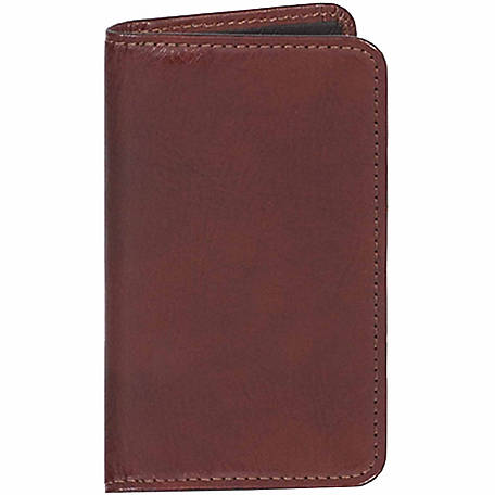 Scully Leather Genuine Leather Personal Weekly Planner, 1007-06-30-F