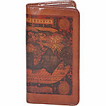 Scully Leather Genuine Leather Pocket Notebook, 1008B-16-28-F