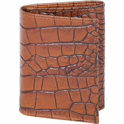 Buy Scully Leather Genuine Leather Tri-Fold Wallet Online