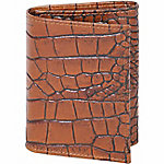 Scully Leather Genuine Leather Tri-Fold Wallet