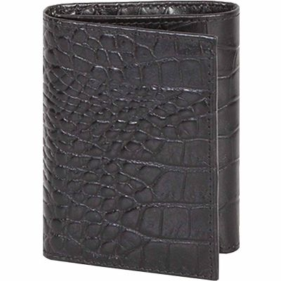 Buy Scully Leather Genuine Leather Tri-Fold Wallet; 2000-0-43-F Online