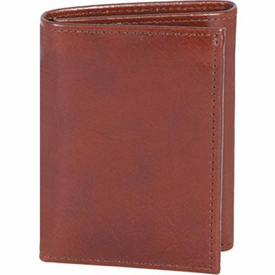 Buy Scully Leather Genuine Leather Tri-Fold Wallet with ID Window; 2000W-06-28-F Online