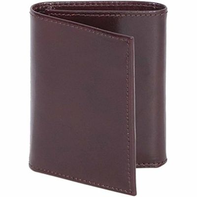 Buy Scully Leather Genuine Leather Tri-Fold Wallet with ID Window; 2000W-06-29-F Online