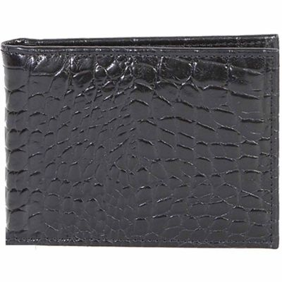 Buy Scully Leather Slim Genuine Leather Billfold with Removable Case; 2005R-0-43-F Online