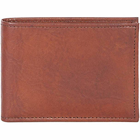 Scully Leather Slim Genuine Leather Billfold with Removable Case, 2005R-0-59-F